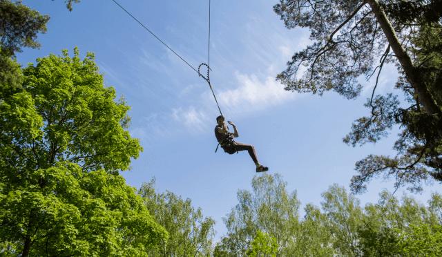 Big swing nuotykiu parkas Tarzanija