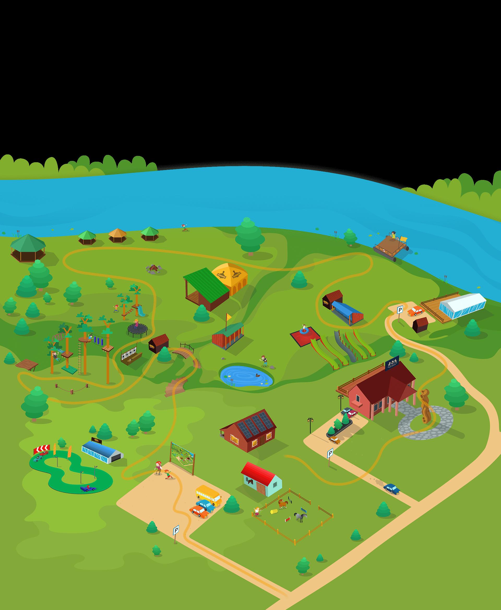 Suplanuok maršrutą Tarzanijos pramogų parke 2