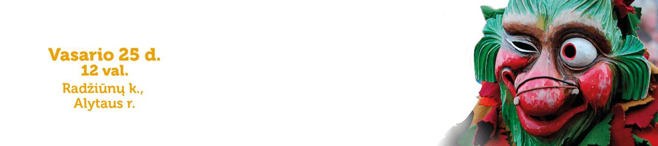Užgavėnės Tarzanijoje 2017 logo