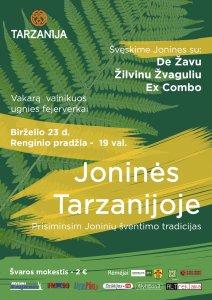 plakatas 212x300 Joninės Tarzanijoje 2017!